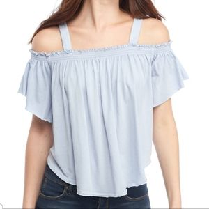 Free People's Darling Off the Shoulder Top